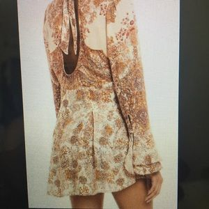 Free People Lady Luck Tunic in Ivory Combo
